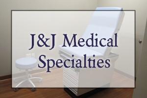 Medical Specialties Landing Page